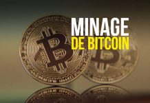Minage de bitcoin